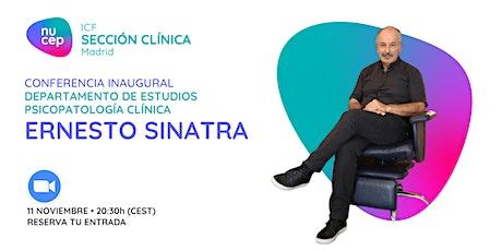 CONFERENCIA a cargo de Ernesto Sinatra - ¡ ADIXIONES ! entradas