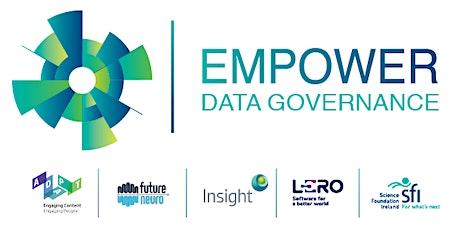 Empower: Data Governance. tickets