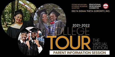 The Educational Development Committee of SM-LAC College Tour Informational tickets