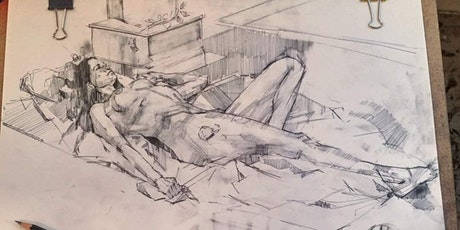 Spirit of the Pose, life drawing workshop with artist Russell MacEwan tickets