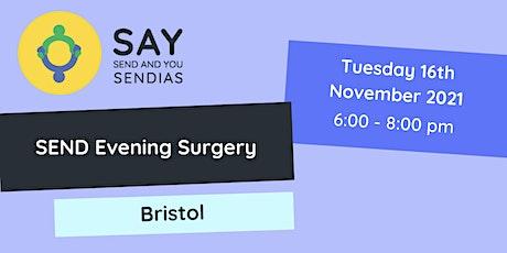 Bristol Evening SEND Surgery - Tuesday 16th November tickets