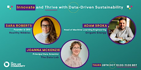TDL Community Event - 'Innovate and Thrive with Data-Driven Sustainability' tickets