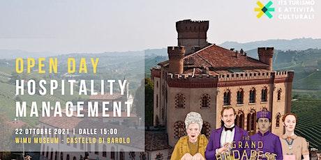 Open Day: Hospitality Management biglietti