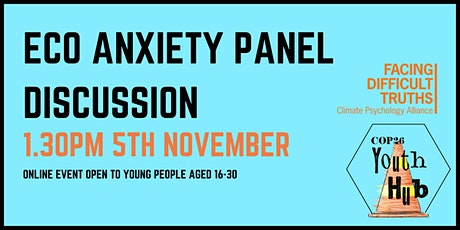Eco-Anxiety Panel Discussion tickets
