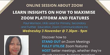 Insights on how to Maximise Zoom Platform and Features tickets