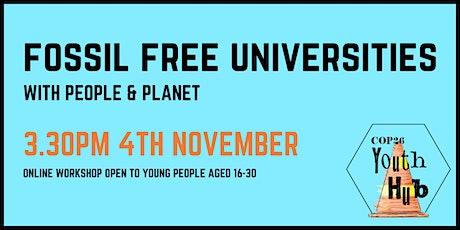 Fossil Free Universities Workshop tickets