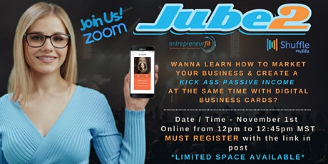 How Digital Biz Cards are Gonna Change Your Business & Life tickets