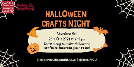 Halloween Crafts Night tickets