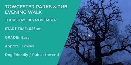 TOWCESTER EVENING PARKS AND PUB WALK | 3 MILES | EASY | NORTHANTS tickets