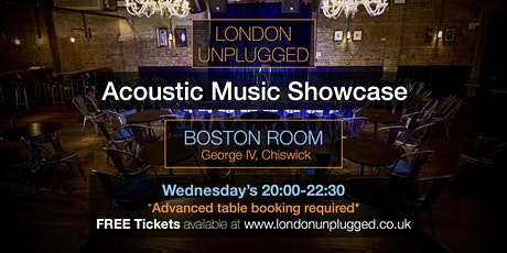 Copy of London Unplugged SHOWCASE 27.10.2021 tickets