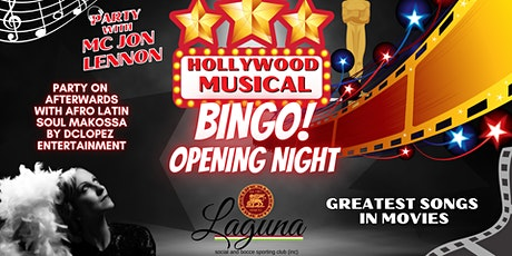 Laguna - Hollywood Musical Bingo tickets