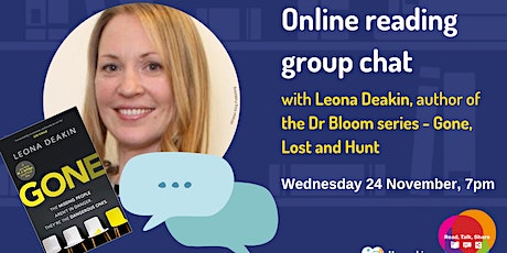 The Digital Readers book chat with Leona Deakin tickets