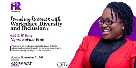 Breaking barriers with Workplace Diversity and Inclusion tickets