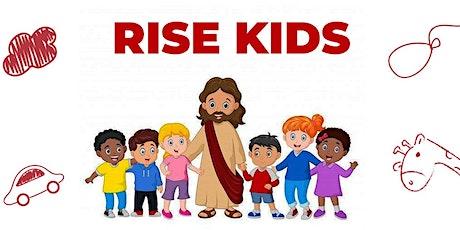 RISE KIDS SOMBRIO- de 02 anos á 07 anos ingressos