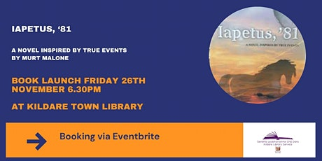 Book Launch - Iapetus '81 tickets