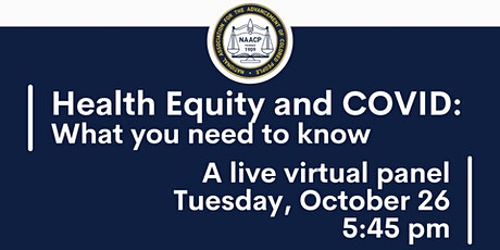 Heath Equity and Covid: What You Need to Know tickets