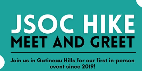 JSOC Hike Meet and Greet tickets