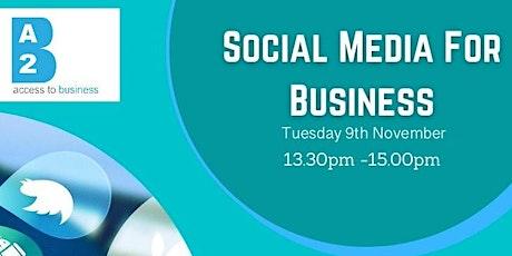 Social Media For Business - Global Learning Festival  Nov 2021 tickets