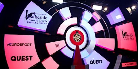 Sunday 2nd January  2022 Lakeside WDF World Darts Championship tickets