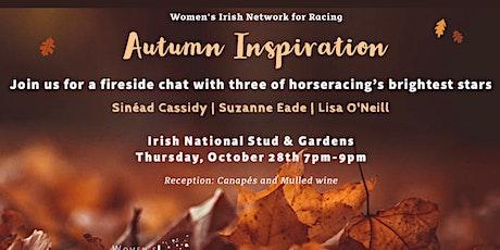 Autumn Inspiration - Fireside Chat tickets
