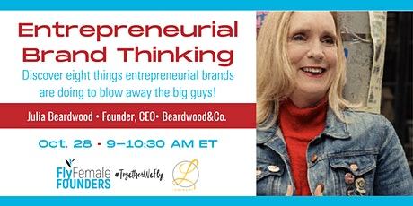 Entrepreneurial Brand Thinking tickets