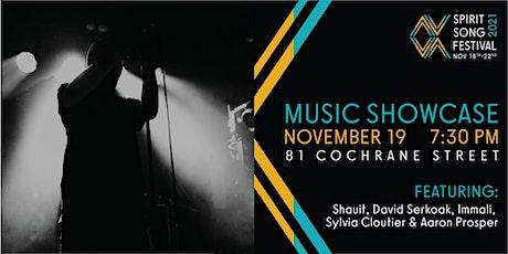 Spirit Song Festival 2021 Music Showcase tickets