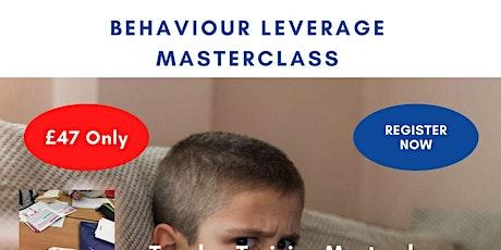 Behaviour Leverage Masterclass tickets