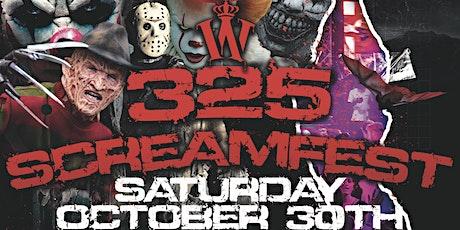 325 ScreamFest tickets