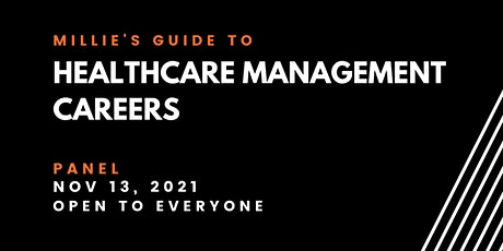 PANEL | Millie's Guide to Healthcare Management Careers tickets
