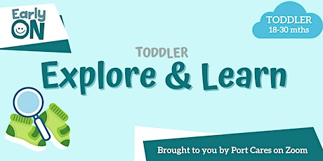 Toddler Explore & Learn -  Cotton Ball Ghosts tickets