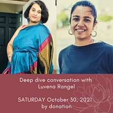 Deep Dive into the Roots of Yoga: a conversation with Luvena Rangel tickets