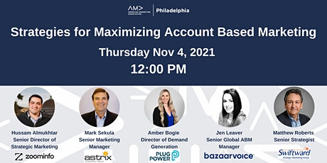 Strategies for Maximizing Account Based Marketing tickets