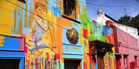 Los escondidos y coloridos pasajes de Palermo Soho y la puntita entradas