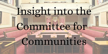 Insight into the Committee for Communities tickets