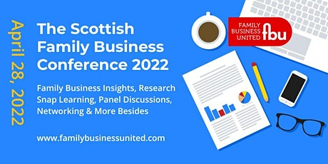 The Scottish Family Business Conference 2022 tickets