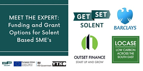 Funding and Grant Options for Solent Based SME's tickets