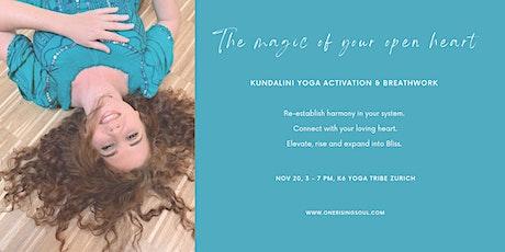 The Magic Of Your Open Heart - Kundalini Yoga & Breathwork Masterclass tickets