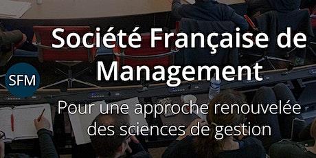 Séminaire SFM/ENSO de prépublication 2021 de la revue Entreprise & Société billets