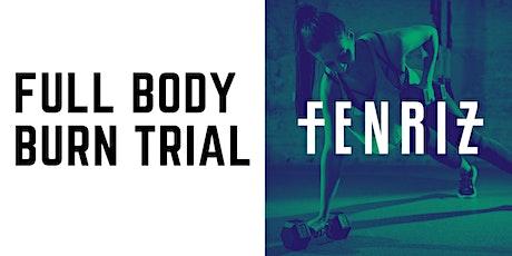 Full Body Burn Trial Class Tickets