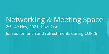 COP26 Networking and Meeting Space tickets