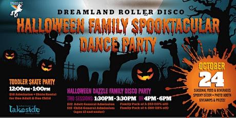 Dreamland Roller Disco Halloween Toddler Skate Party tickets