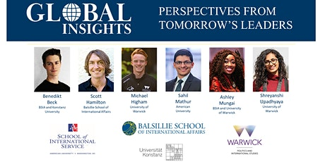 Global Insights: Tomorrow's Leaders in International Affairs tickets