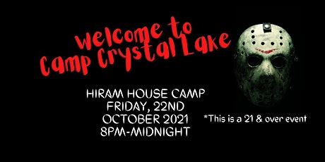 Welcome to Camp Crystal Lake tickets