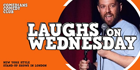 Comedians Comedy Club - LAUGHS ON WEDNESDAY tickets