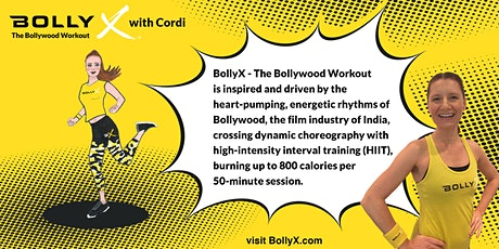BollyX with Cordi -  on FRIDAY FREE Trial Class tickets