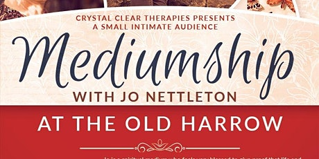 Small Intimate Audience of Mediumship with Jo Nettleton tickets