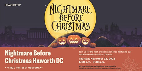 Nightmare Before Christmas Party tickets