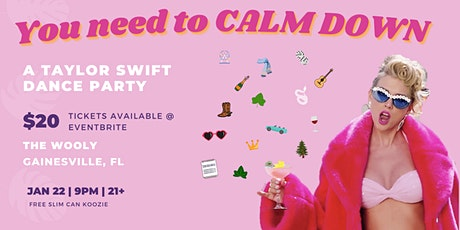 You Need to Calm Down: A Taylor Swift Dance Night at the Wooly tickets