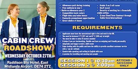 Ryanair Cabin Crew Recruitment Roadshow - East Midlands tickets
