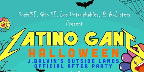 J.Balvin Outside Lands Concert After Party w/ DJ POPE - J.Balvin's DJ tickets